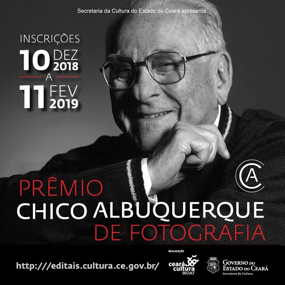 Edital Prêmio Chico Albuquerque de Fotografia: inscrições abertas