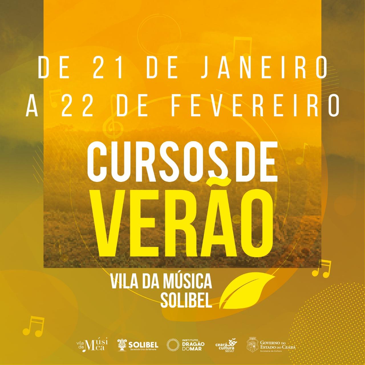 Vila da Música Solibel abre inscrições para Cursos de Verão