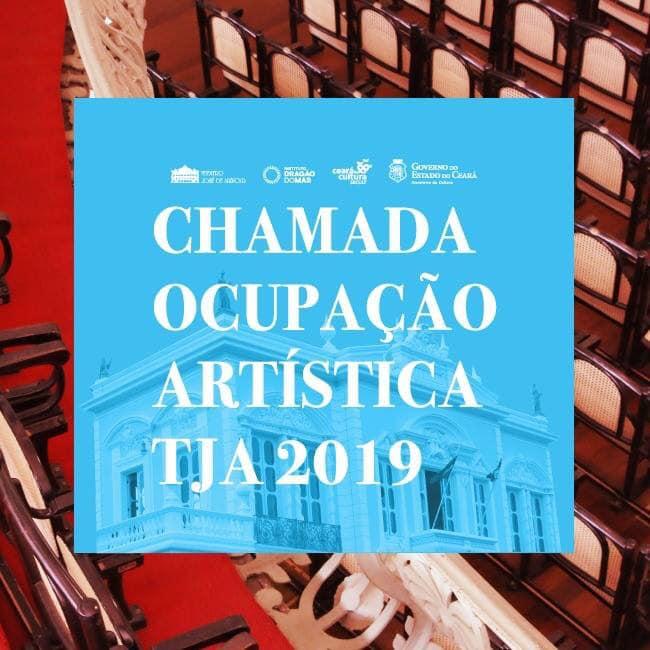 TJA lança edital de Ocupação Artística 2019