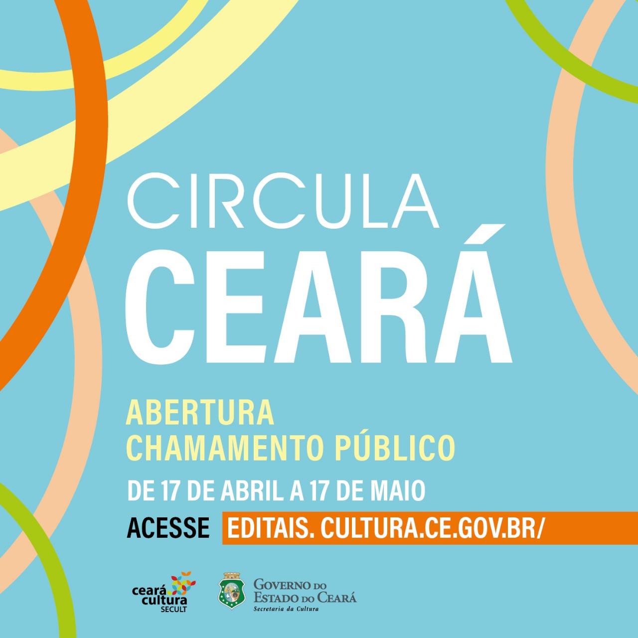Circula Ceará: Secult abre chamada pública para artistas cearenses