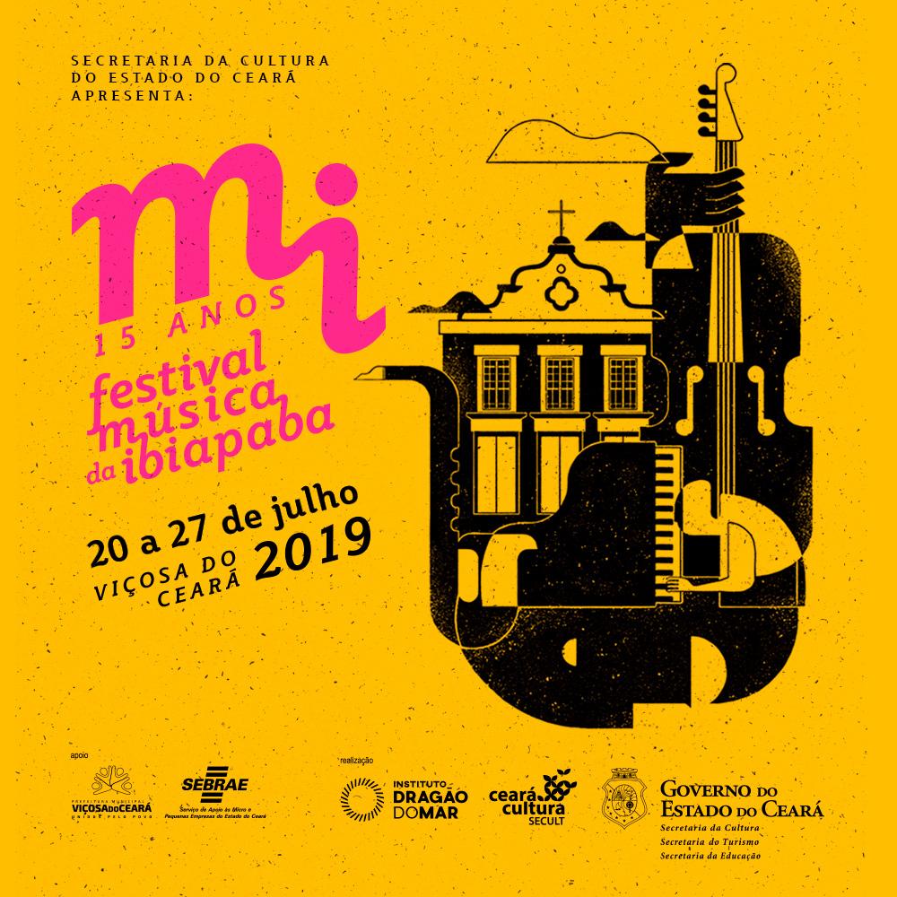 15º Festival Mi divulga sua programação completa que ocorre de 20 a 27 de julho em Viçosa do Ceará