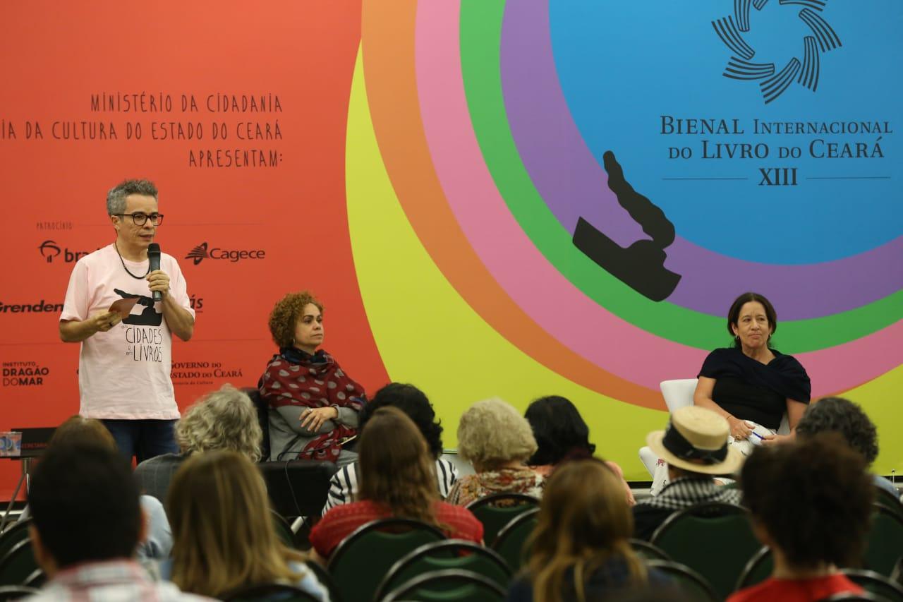 Novo conceito da Biblioteca Pública do Ceará é apresenta na Bienal do Livro