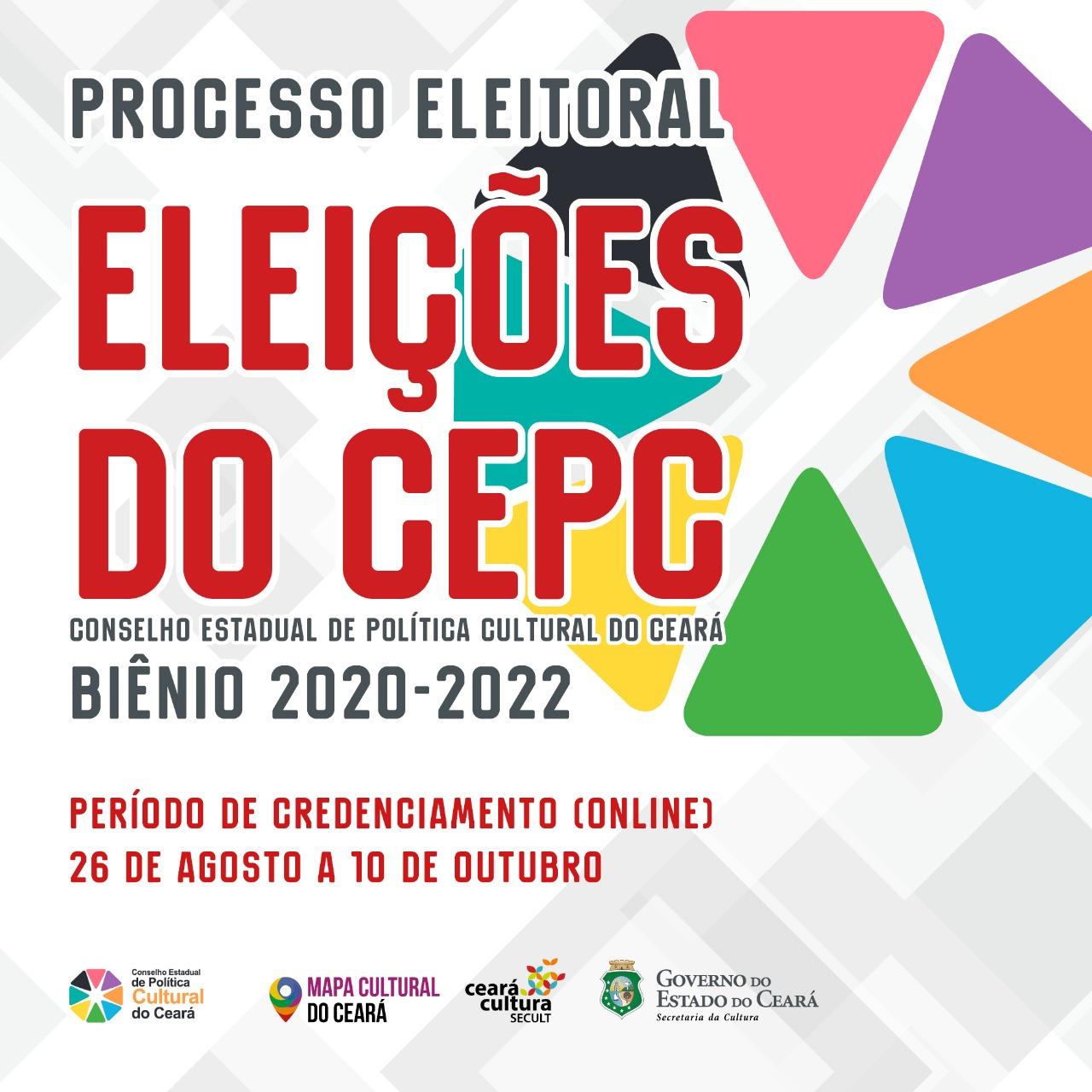 Secult torna público o Processo Eleitoral do CEPC – Biênio 2020-2022