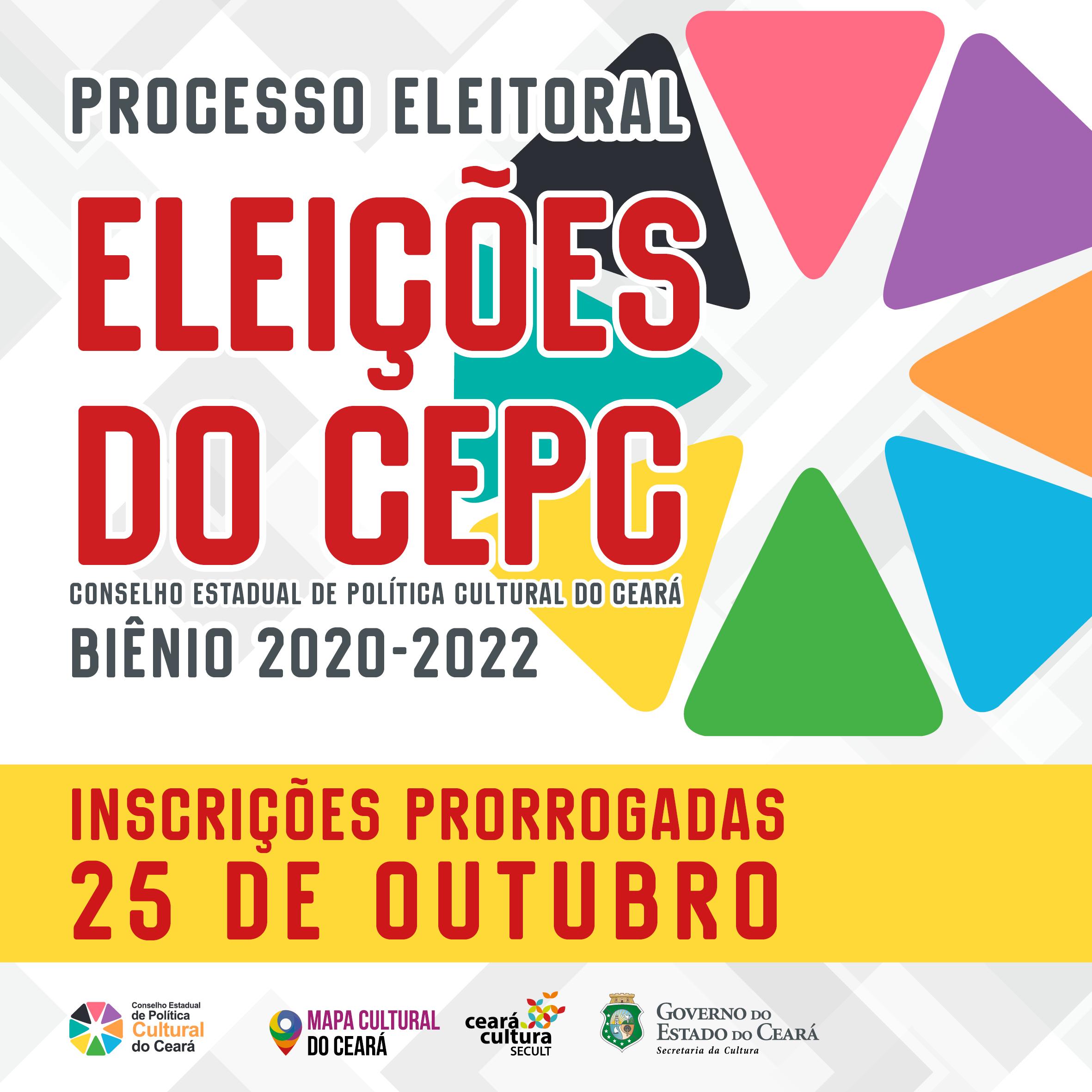 #PRORROGADO: Inscrições para as Eleições do CEPC – Biênio 2020-2022 seguem até 25/10