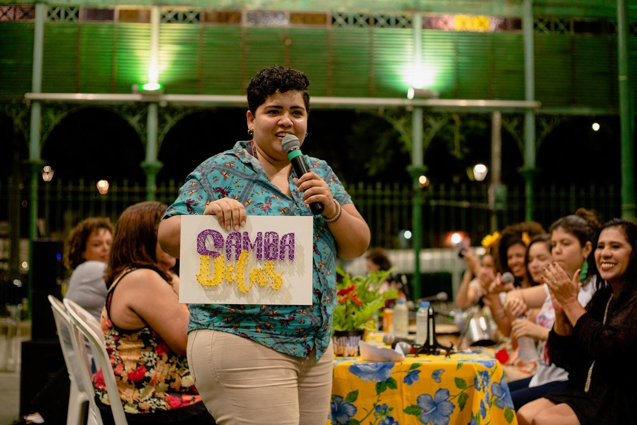 Pós-carnaval no Teatro Carlos Câmara tem forró, canto popular e muito samba