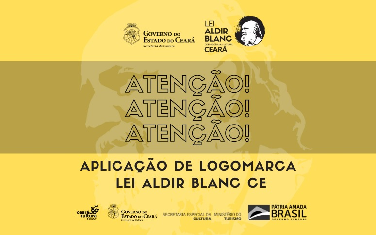 Aplicação de Logomarca – Lei Aldir Blanc CE