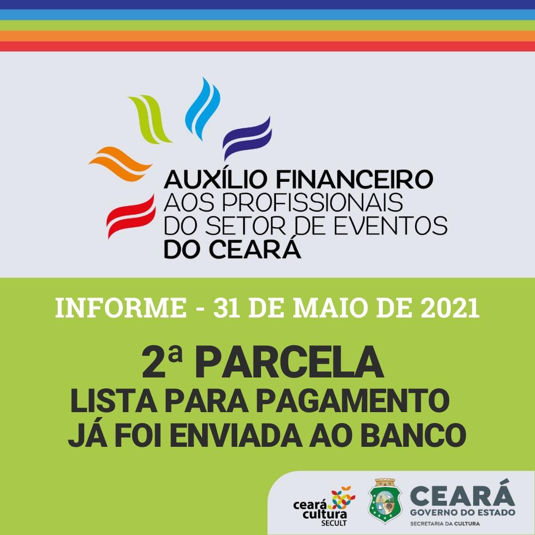 Informe – 31/05 – Auxílio Financeiro aos Trabalhadores e Trabalhadoras do Setor de Eventos