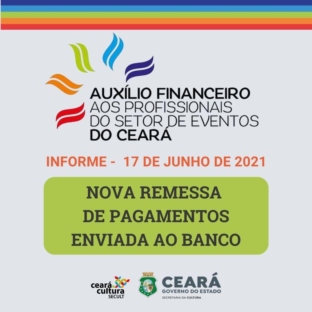 Informe – 17/06 – Auxílio Financeiro aos Trabalhadores e Trabalhadoras do Setor de Eventos